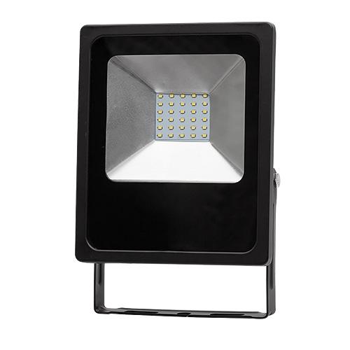 PROIECTOR LED SLIM, IP65, 30W, 6400K, 90-260V AC, LUMINA RECE