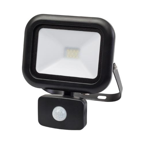 Proiector LED cu senzor, 10W, 4000K, 220V, IP44, SMD2835, lumina neutra