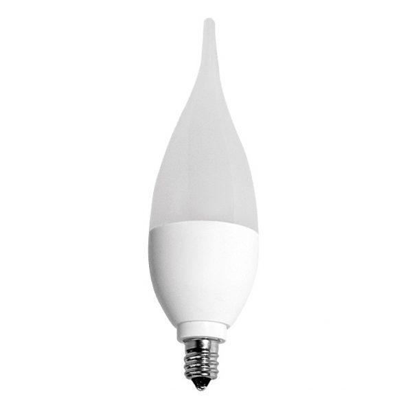 BEC LED CU FILAMENT, CON, 5W, E14, LUMINA CALDA-0
