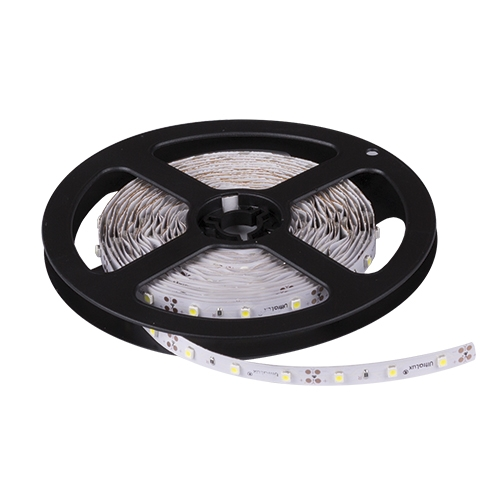 Banda LED flexibila, SMD2835, alb neutru, 9.6 W/m, 120 LED-uri/m, nerezistenta la apa