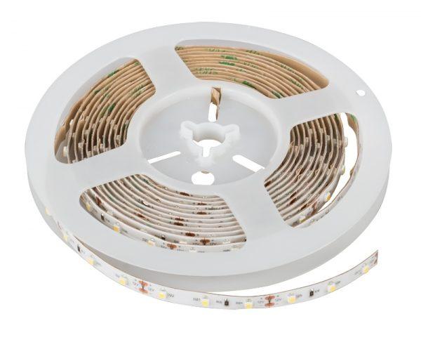 BANDA LED PROFESIONALA, SMD3528, 24V DC, 4.8W/M, 60LED-URI/M, ALB CALD, REZISTENTA LA APA IP54-0