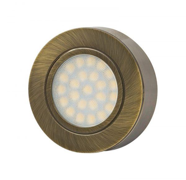 Rama spot fix, rotunda, culoare alama satinata, pentru LML220442SB-6638