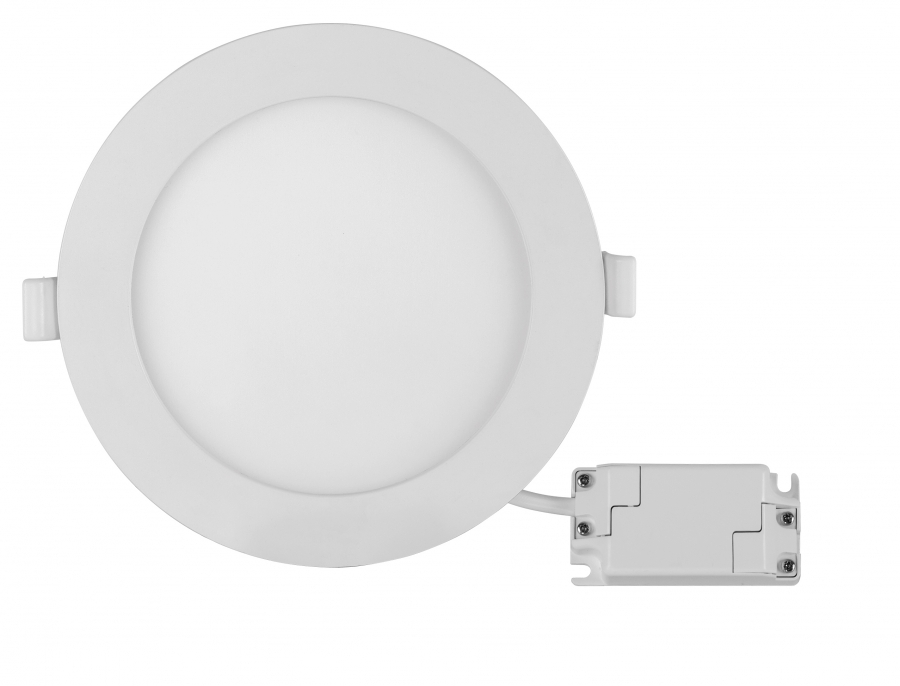 Panou LED incastrabil, rotund, 18W, SMD2835, lumina neutra