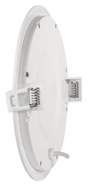 Panou LED incastrabil, rotund, 18W, SMD2835, lumina neutra-6735