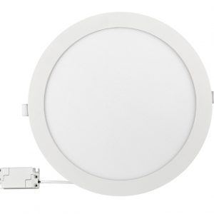 Panou LED incastrabil, rotund, 24W, SMD2835, lumina neutra-0