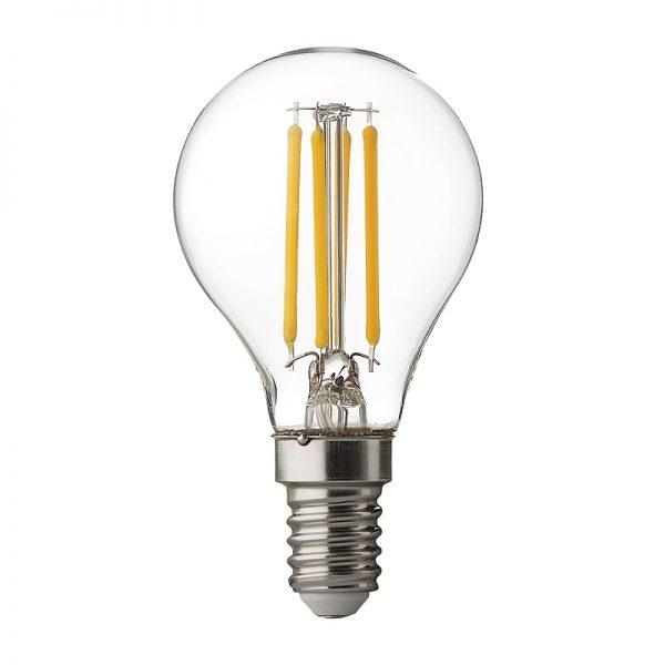 BEC LED, Filament Dimabil 4W,E14, 4200K-0