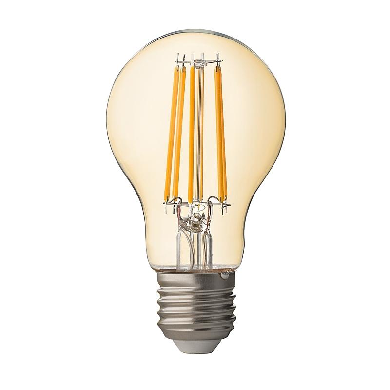 BEC LED, Filament Dimabil, 7.5W, E27, 2500K, amber