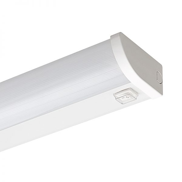Corp de iluminat led, liniar, slim,14W, 4200K, IP44, cu intrerupator-6755