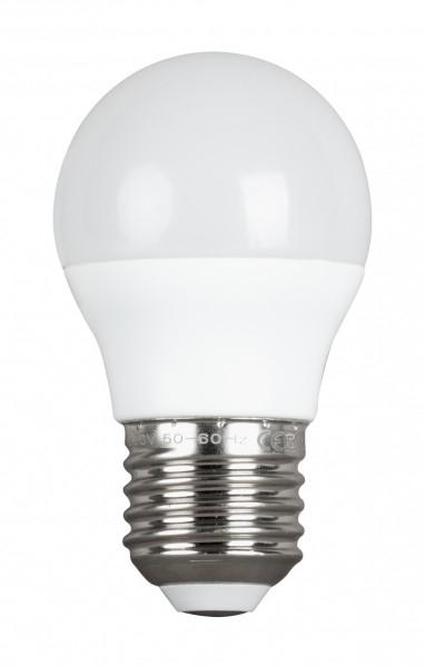 BEC LED SFERIC, 5W, E27, 4200K, 220V AC, SMD2835, LUMINA NEUTRA-0